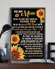 Mom Sharing Triumphs And Tears 11x17 Poster lifestyle-poster-2