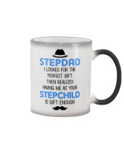 Your Stepchild Is Gift Enough Color Changing Mug tile