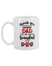 brillant granpa for my dog Mug back