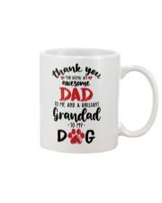brillant granpa for my dog Mug front