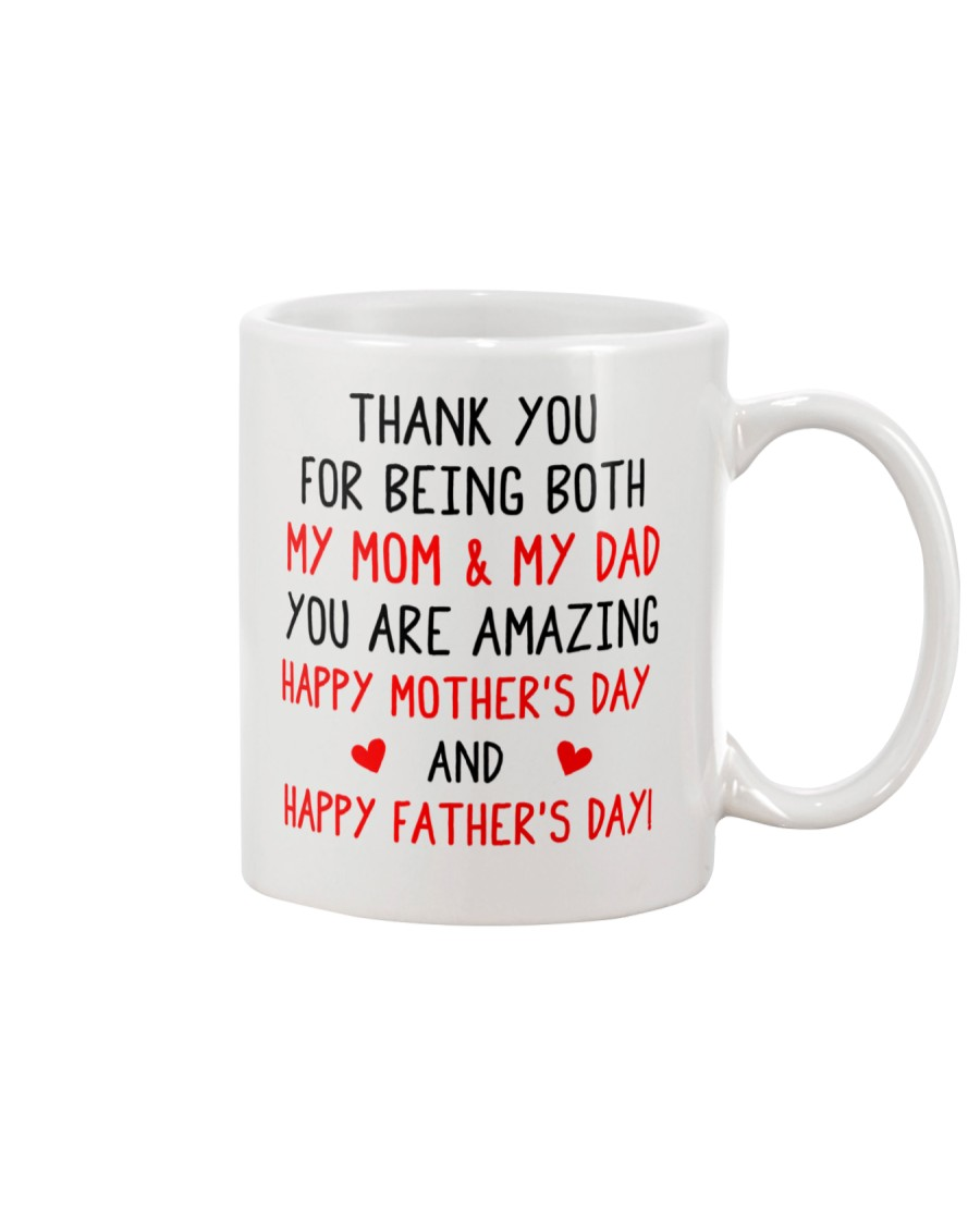 Being Mom And Dad Mug