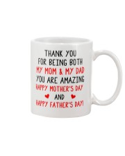 Being Mom And Dad Mug front