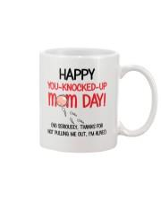 You-Knocked-Up Mom Day Mug front