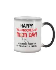 You-Knocked-Up Mom Day Color Changing Mug thumbnail