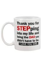Thank you Stepdad Mug back