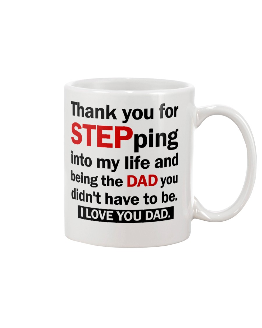 Thank you Stepdad Mug