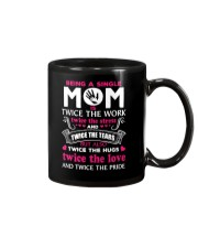 Being A Single Mom Is Twice  Mug thumbnail