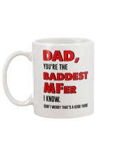 Baddest MFer Mug back