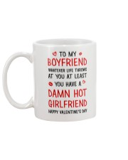 Hot Girlfriend Mug back
