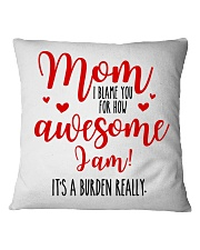 Mom Awesome I Am Square Pillowcase thumbnail