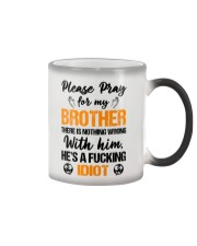 Pray For My Brother Color Changing Mug thumbnail