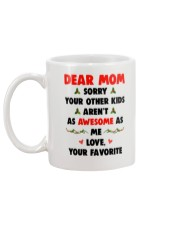 Other Kids Not Awesome As Me Mug back
