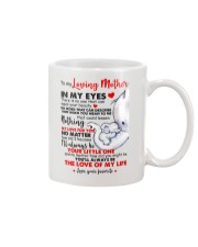 To My Loving Mother Mug front