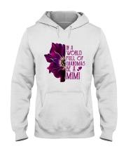 Be A Mimi Carnation Hooded Sweatshirt thumbnail