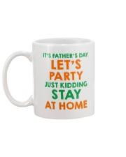 Party Just Kidding Mug back