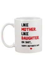 Like Mother Like Daughter Mug back