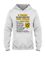 5 Things About Dog Mom Hooded Sweatshirt thumbnail