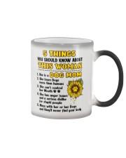 5 Things About Dog Mom Color Changing Mug thumbnail