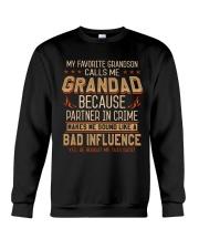 Favourite Grandson Bad Influence Bought Crewneck Sweatshirt thumbnail