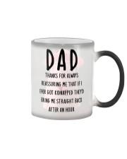 Dad Reassuring Me Color Changing Mug thumbnail