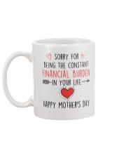 Constant Financial Burden Mug back