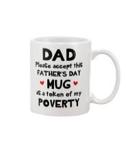Please Accept This Mug Dad Mug front