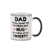 Please Accept This Mug Dad Color Changing Mug thumbnail