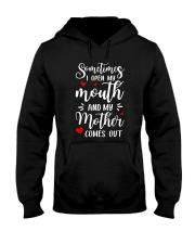 Mother Comes Out Hooded Sweatshirt thumbnail