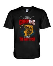 Carping V-Neck T-Shirt thumbnail