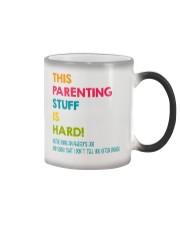 Parenting Stuff Is Hard Color Changing Mug tile