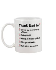 Thanks Dad For Mug back
