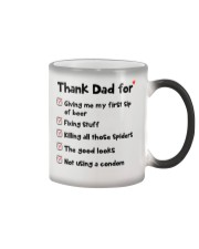 Thanks Dad For Color Changing Mug thumbnail