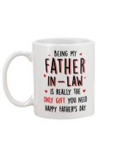 Father-in-law Only Gift Mug back