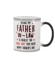 Father-in-law Only Gift Color Changing Mug thumbnail