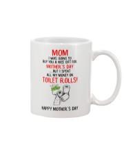 Spend All Money On Toilet Rolls Mug front