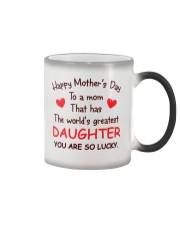 Mom Has Greatest Daughter Color Changing Mug thumbnail