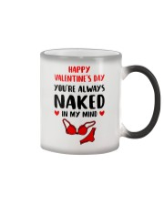 You're Always Naked In My Mind Color Changing Mug thumbnail