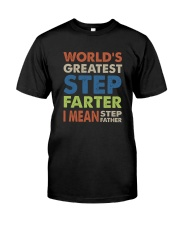 Step-farter Classic T-Shirt front