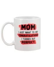 Mom Congratulation Mug back