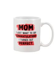 Mom Congratulation Mug front