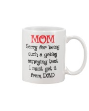 Must Get It From Dad Mug front