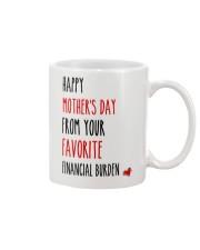 Favorite Financial Burden Mug front