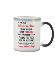 Never Murder Father-in-law Color Changing Mug thumbnail