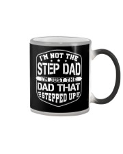 The Dad That Stepped Up Color Changing Mug tile
