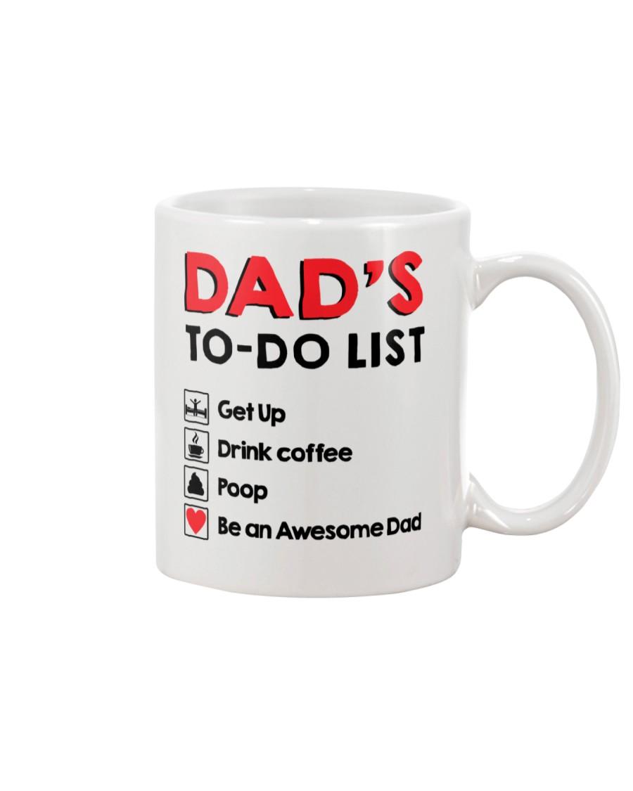 Dad's To Do list Mug