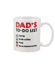 Dad's To Do list Mug front