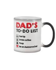 Dad's To Do list Color Changing Mug thumbnail