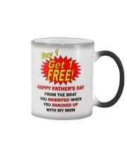 Buy 1 Get 1 Free1 Dad Color Changing Mug thumbnail