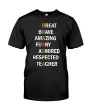 Grandpa Adjectives Classic T-Shirt thumbnail