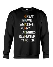 Grandpa Adjectives Crewneck Sweatshirt thumbnail